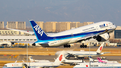 JA802A - Boeing 787-8 Dreamliner - All Nippon Airways (ANA)
