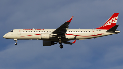 4L-TGU - Embraer 190-100IGW - Georgian Airways