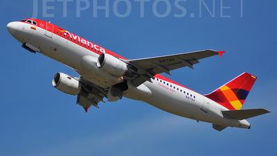 N417AV - Airbus A320-214 - Avianca