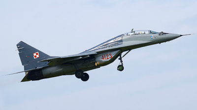4123 - Mikoyan-Gurevich MiG-29UB Fulcrum B - Poland - Air Force