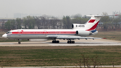B-4029 - Tupolev Tu-154M - China - Air Force