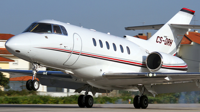 CS-DRH - Raytheon Hawker 800XP - NetJets Europe