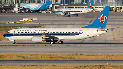 A picture of B2693 - Boeing 73781B - China Southern Airlines - © Unbeliverpool
