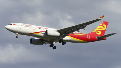 A picture of B5979 - Airbus A330243 - Hainan Airlines - © Minizyi