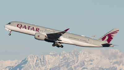 A picture of A7ALK - Airbus A350941 - Qatar Airways - © paoloz99