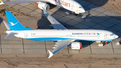 B-20E1 - Boeing 737-8 MAX - Xiamen Airlines
