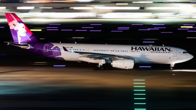 N375HA - Airbus A330-243 - Hawaiian Airlines