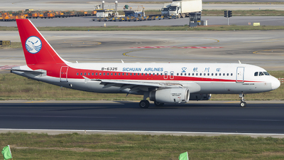 B-6325 - Airbus A320-232 - Sichuan Airlines