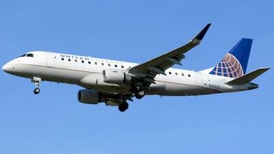 A picture of N88326 - Embraer E175LR - United Airlines - © nicholastoto