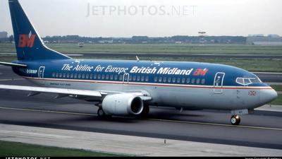 G-OBMP - Boeing 737-3Q8 - British Midland
