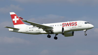 A picture of HBJBB - Airbus A220100 - Swiss - © RAFAL KUKOWSKI