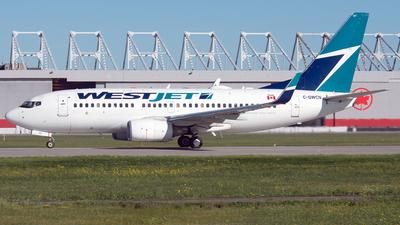 C-GWCN - Boeing 737-7CT - WestJet Airlines