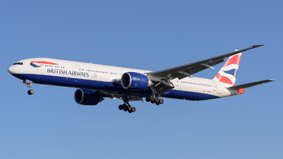 G-STBI - Boeing 777-336ER - British Airways