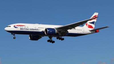 A picture of GVIIB - Boeing 777236(ER) - British Airways - © Ferenc Kolos