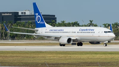 HP-1711CMP - Boeing 737-8V3 - Copa Airlines