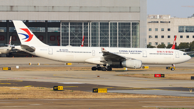A picture of B6095 - Airbus A330343 - China Eastern Airlines - © Dream it possible.
