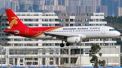 A picture of B6615 - Airbus A320232 - Shenzhen Airlines - © Predic. LXY!