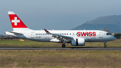 A picture of HBJBF - Airbus A220100 - Swiss - © xuhaoqing995