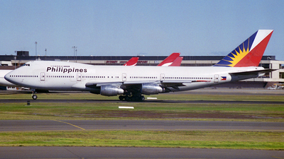 N207AE - Boeing 747-211B - Philippine Airlines