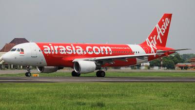PK-AXX - Airbus A320-216 - Indonesia AirAsia