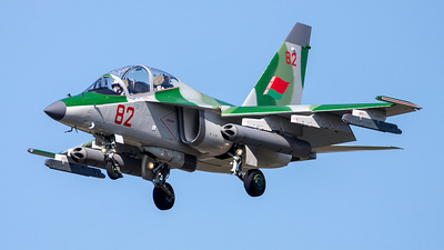 82 - Yakovlev Yak-130 - Belarus - Air Force