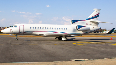 A picture of PRJRY - Dassault Falcon 8X - [414] - © Gabriel Wallace
