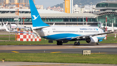 A picture of B1970 - Boeing 73785C - Xiamen Air - © UNNAMED