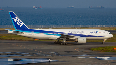 A picture of JA716A - Boeing 777281(ER) - All Nippon Airways - © taiseikondo