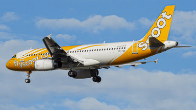 A picture of 9VTAO - Airbus A320232 - Scoot - © Mohamed Rizwan