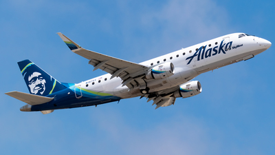 A picture of N187SY - Embraer E175LR - Alaska Airlines - © Ricky Teteris