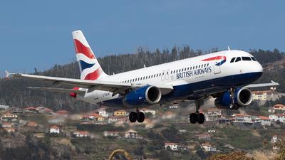 G-EUUW - Airbus A320-232 - British Airways