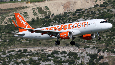 G-EZWR - Airbus A320-214 - easyJet