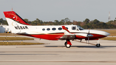 A picture of N58AW - Cessna 414A Chancellor - [414A0276] - © Oliver Richter