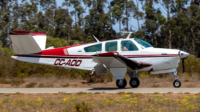 CC-AOD - Beechcraft V35B Bonanza - Private