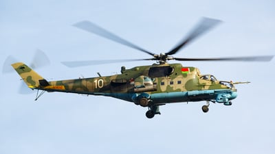 10 - Mil Mi-24P Hind F - Belarus - Air Force