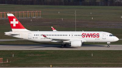 A picture of HBJCS - Airbus A220300 - Swiss - © Joe Masui