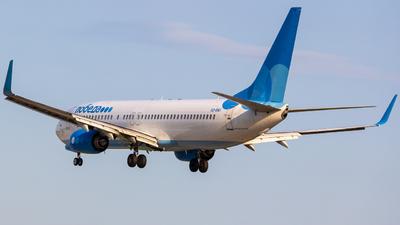 A picture of VQBWI - Boeing 7378LJ - Pobeda - © Dmitrii Ermakov