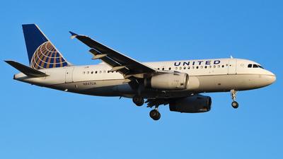 N847UA - Airbus A319-131 - United Airlines