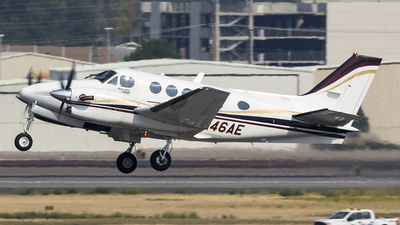 N46AE - Beechcraft C90A King Air - ExecuJet Aviation