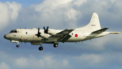 5074 - Lockheed P-3C Orion - Japan - Maritime Self Defence Force (JMSDF)