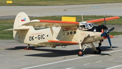OK-GIC - PZL-Mielec An-2 - Elmontex Air