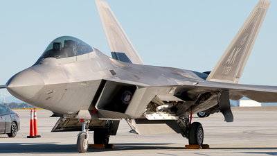 07-4137 - Lockheed Martin F-22A Raptor - United States - US Air Force (USAF)