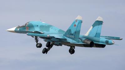 RF-95846 - Sukhoi Su-34 Fullback - Russia - Air Force