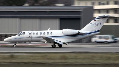 A picture of DCJET - Cessna 525B CitationJet CJ3 - Air Hamburg - © Paul Denton