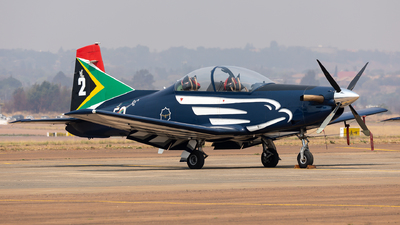 2017 - Pilatus PC-7 Mk.II - South Africa - Air Force