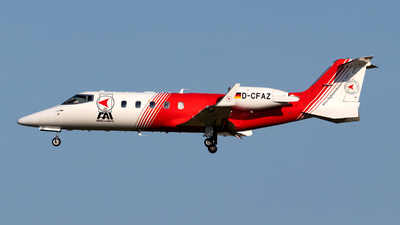 D-CFAZ - Bombardier Learjet 60 - FAI Flight-Ambulance