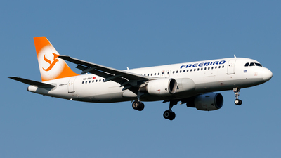 TC-FHC - Airbus A320-214 - Freebird Airlines