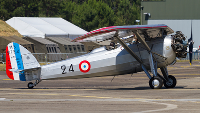 F-HCJD - Morane-Saulnier MS-317 - Private