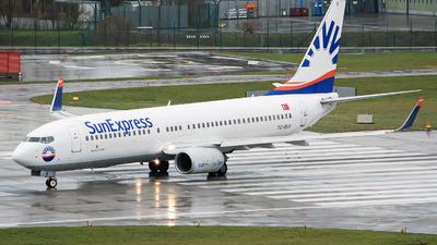 A picture of TCSUV - Boeing 73786N - SunExpress - © Sebastian Thiel