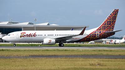 PK-LZO - Boeing 737-8GP - Batik Air